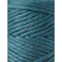 Peacock blue macrame cord 3mm Bobbiny