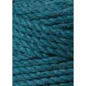 Peacock Blue 3ply macrame cotton rope 5mm 100m Bobbiny