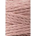 Blush 3ply macrame cotton rope 5mm 100m Bobbiny