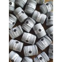 Light Grey 3ply macrame cotton rope 5mm 100m Bobbiny