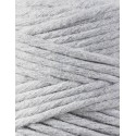 Light Grey macrame cotton cord 3mm 100m Bobbiny
