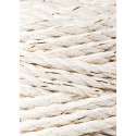 Golden Natural 3ply macrame cotton rope 5mm 100m Bobbiny