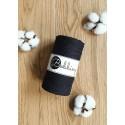 Black 3ply macrame cotton rope 3mm 100m Bobbiny