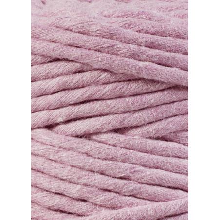 Dusty Pink macrame cotton cord 3mm 100m Bobbiny