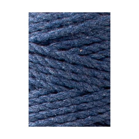 Jeans 3ply macrame cotton rope 3mm 100m Bobbiny