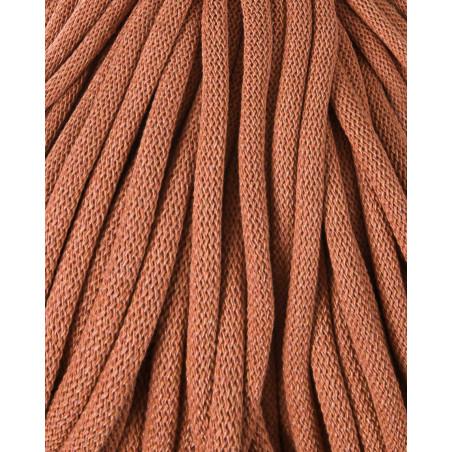 Terracotta cotton cord 9mm 100m Bobbiny