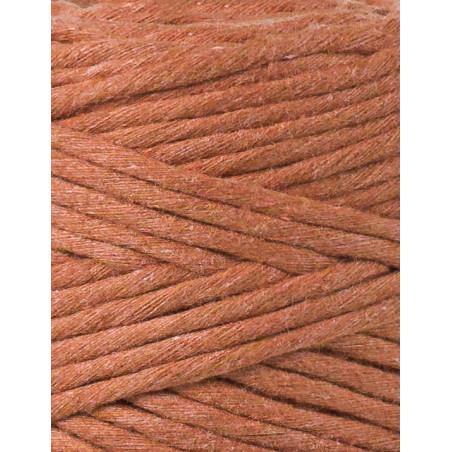 Terracotta macrame cotton cord 3mm 100m Bobbiny