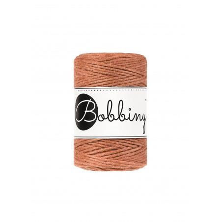 Terracotta macrame cotton cord 1.5mm 100m Bobbiny