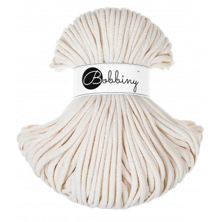 Natural macrame cotton cord 5mm 100m Bobbiny