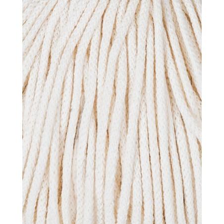 Naturalny sznurek pleciony 3mm 100m Bobbiny