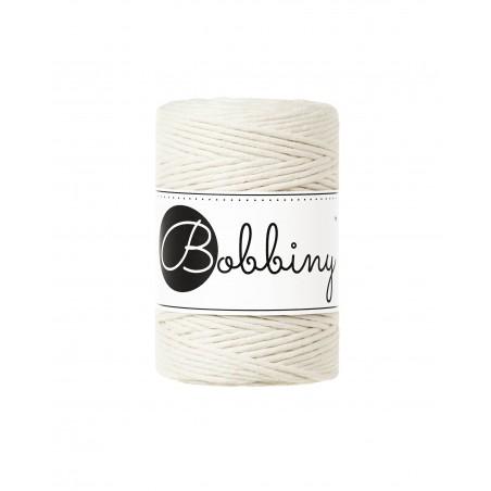 Natural macrame cotton cord 1.5mm 100m Bobbiny