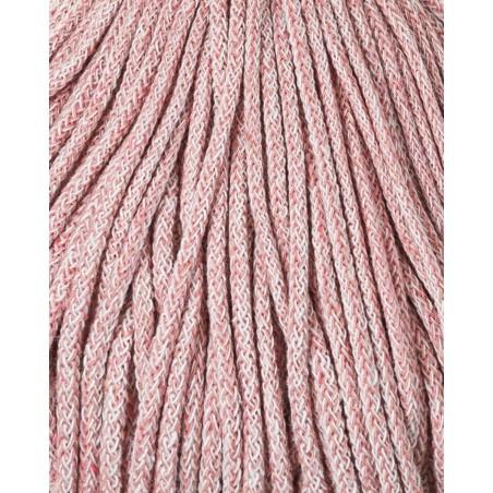 Strawberry Braided cord 3mm 100m Bobbiny