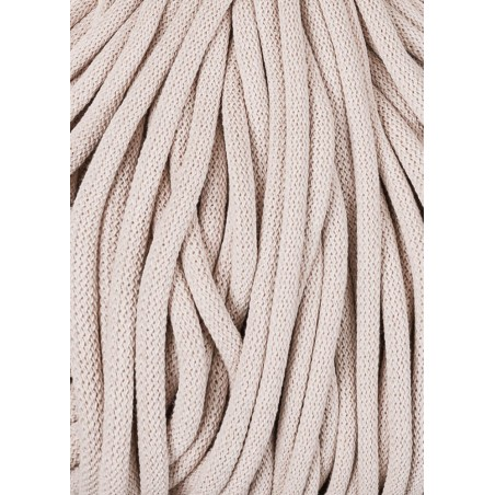 Nude braided cord 9mm 100m Bobbiny