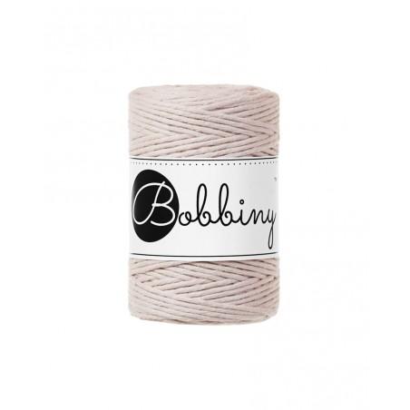 Nude macrame cotton cord 1.5mm 100m Bobbiny