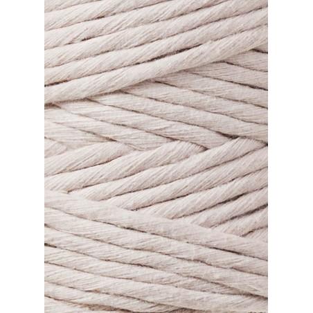 Nude macrame cotton cord 3mm 100m Bobbiny