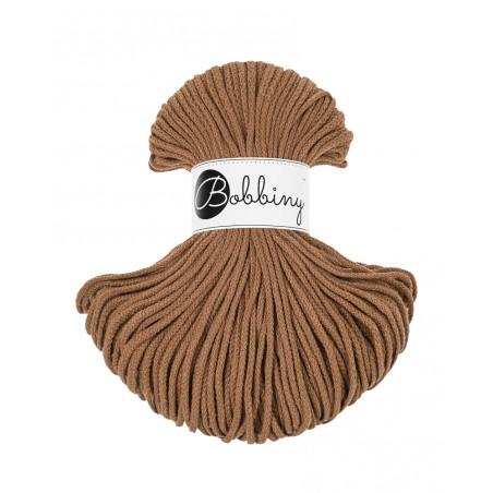 Karmelowy sznurek pleciony 3mm 100m Bobbiny