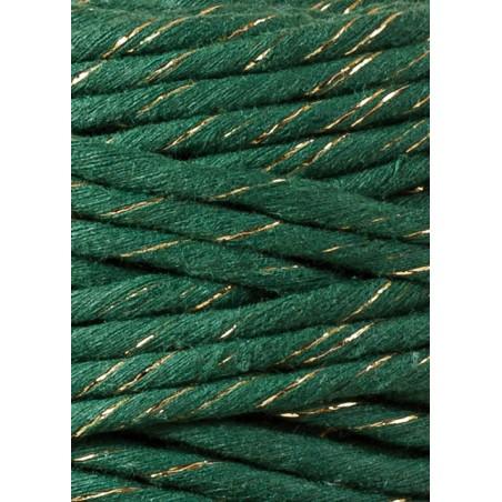 Golden Pine Green Macrame Cord 5mm 100m