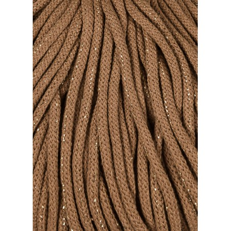 Golden Caramel Braided Cord 5mm 100m