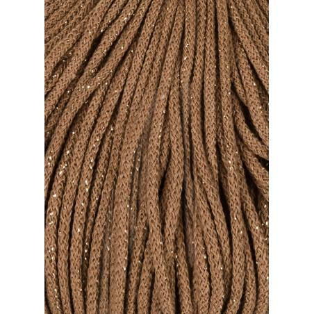 Golden Caramel Braided Cord 3mm 100m Bobbiny