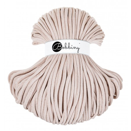 Golden Nude Braided Cord 9mm 100m