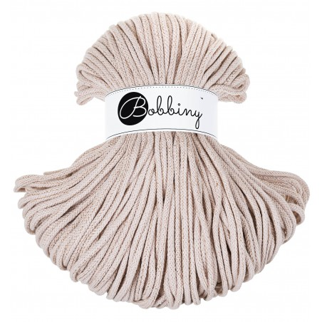 Golden Nude Braided Cord 5mm 100m