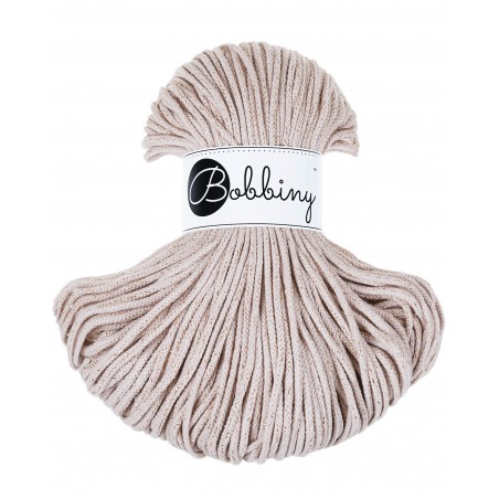 Golden Nude Braided Cord 3mm 100m