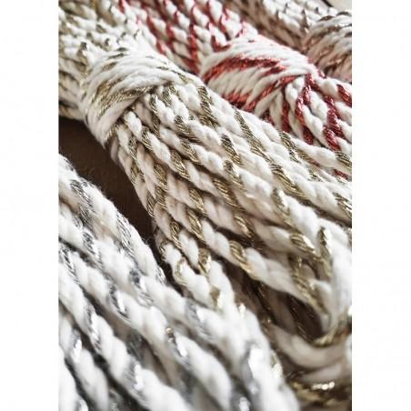 Champagne Twist 3mm 3PLY Macrame Rope - 50m Bobbiny