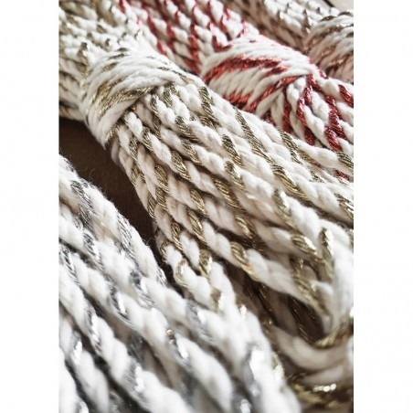 Copper Twist 3mm 3PLY Macrame Rope- 50m Bobbiny